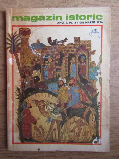Anticariat: Magazin istoric, Anul X, Nr. 3 (108), martie 1976