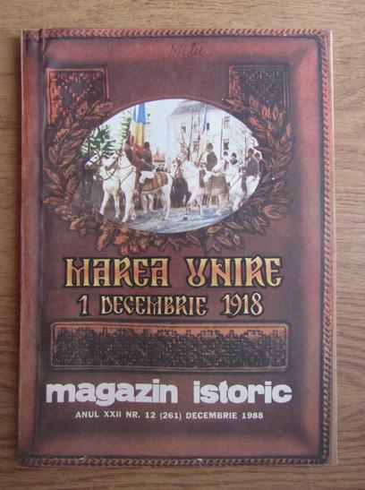 Anticariat: Magazin istoric, anul XXII, nr. 12 (261), decembrie 1988
