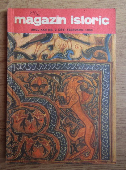 Anticariat: Magazin istoric, anul XXII, nr. 2 (251), februarie 1988