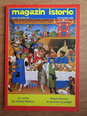 Anticariat: Magazin istoric, Anul XLIII, Nr. 12 (513), decembrie 2009