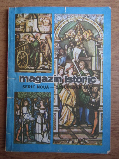 Anticariat: Magazin istoric, Anul XXIV, Nr. 10 (283), octombrie 1990