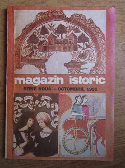 Anticariat: Magazin istoric, anul XXVI, nr. 10 (307), octombrie 1992