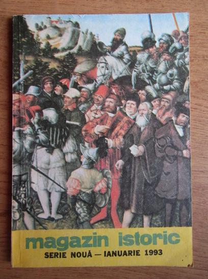 Anticariat: Magazin istoric, anul XXVII, nr. 1 (310), ianuarie 1993