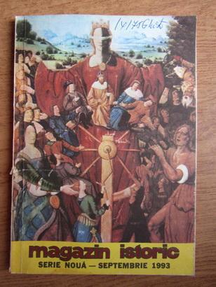 Anticariat: Magazin istoric, anul XXVII, nr. 9 (318), septembrie 1993
