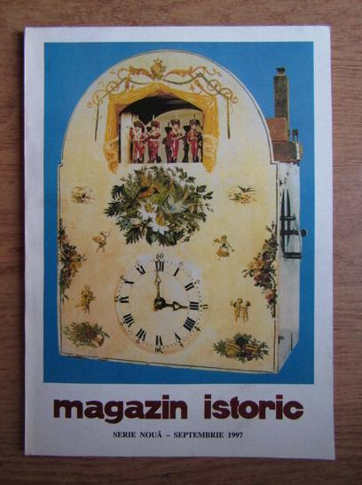 Anticariat: Magazin istoric, anul XXXI, nr. 9 (366), septembrie 1997