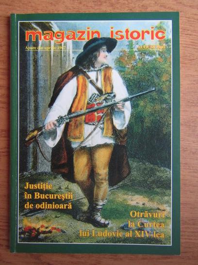 Anticariat: Magazin istoric, Anul XXXIX, Nr. 8 (461), august 2005