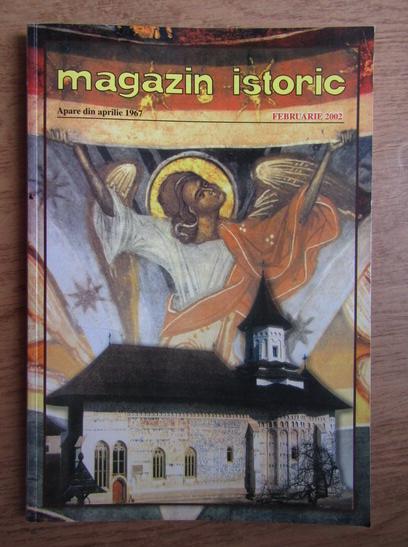 Anticariat: Magazin istoric, Anul XXXVI, Nr. 2 (419), februarie 2002