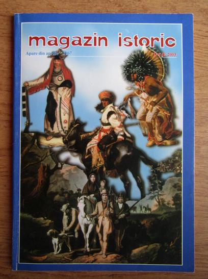 Anticariat: Magazin istoric, Anul XXXVII, Nr. 7 (436), iulie 2003