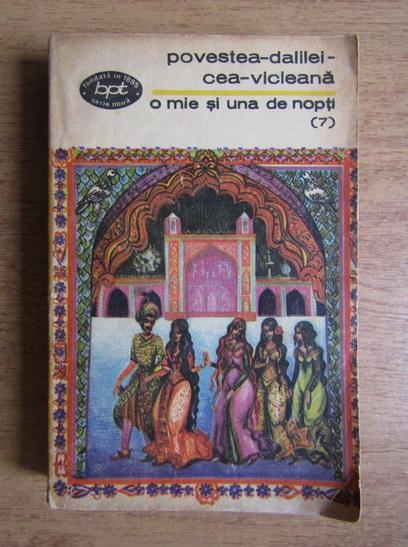 Anticariat: O mie si una de nopti. Povestea dalilei cea vicleana, noptile 416-501