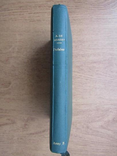 Anticariat: Alfred de Musset - Poesies (1937)