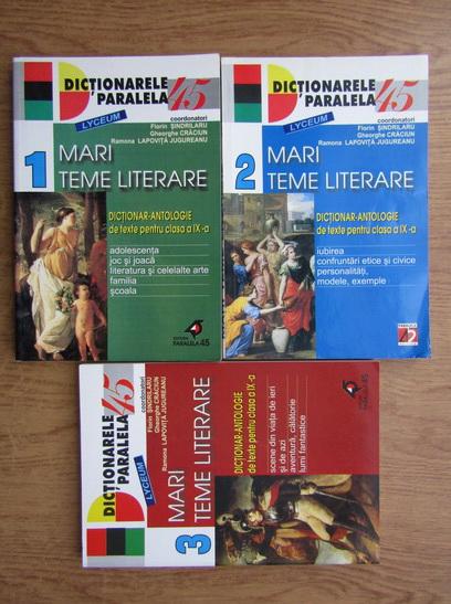 Anticariat: Florin Sindrilaru -Mari teme literare (3 volume)