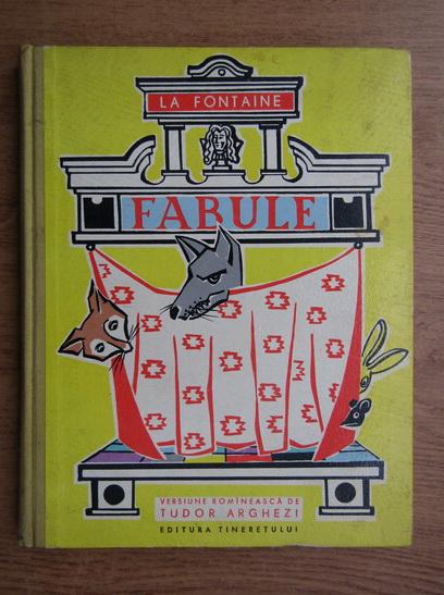 Anticariat: La Fontaine - Fabule (cu ilustratii de Mircea Morasin)