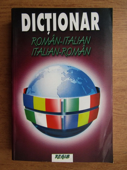 Anticariat: Alexandru Nicolae - Dictionar roman-italian, italian-roman