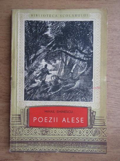 Anticariat: Mihai Eminescu - Poezii alese