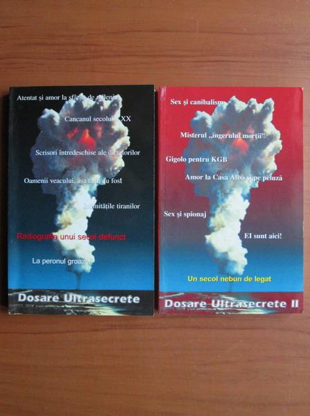Anticariat: Dosare ultrasecrete (2 volume)