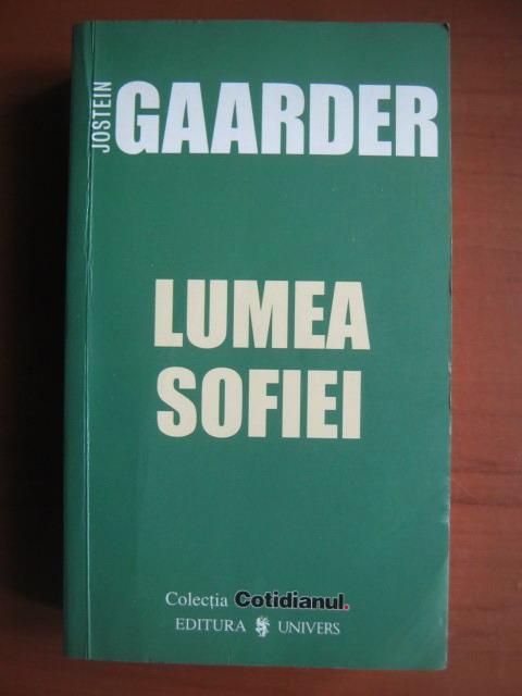 Anticariat: Jostein Gaarder - Lumea Sofiei (Cotidianul)