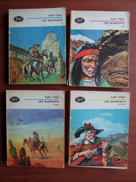 Anticariat: Karl May - Old Surehand (4 volume)
