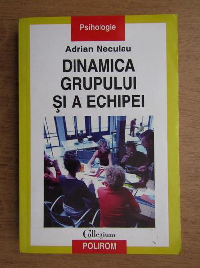 Anticariat: Adrian Neculau - Dinamica grupului si a echipei