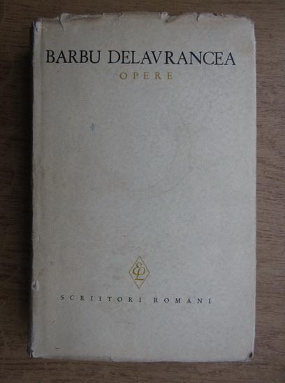 Anticariat: Barbu Stefanescu Delavrancea - Opere (volumul 2)