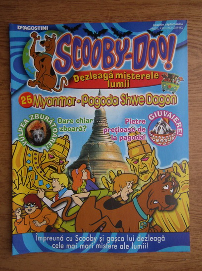 Anticariat: Scooby-Doo. Myanmar, Pagoda Shwe Dagon, nr. 25