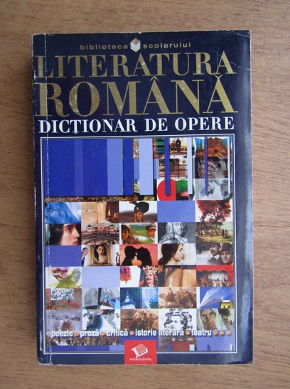 Anticariat: Mircea Anghelescu - Literatura romana, dictionar de opere
