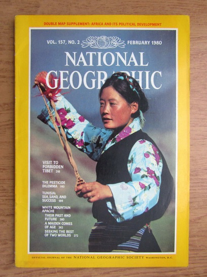 Anticariat: National Geographic. Vol. 157, Nr. 2, Februarie 1980