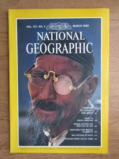Anticariat: National Geographic. Vol. 157, Nr. 3, Martie 1980
