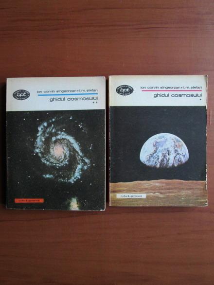 Anticariat: Ion Corvin Sangeorzan - Ghidul cosmosului (2 volume)