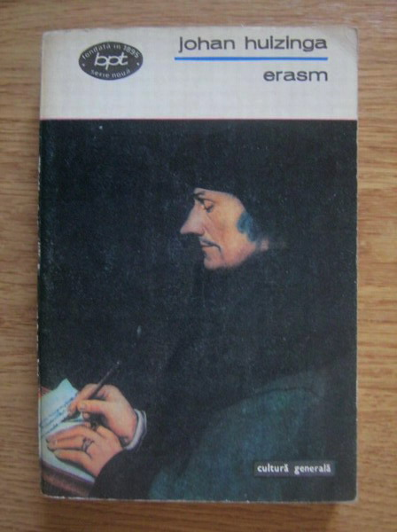 Anticariat: Johan Huizinga - Erasm
