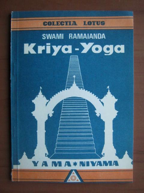 Anticariat: Swami Ramaianda - Kriya-Yoga