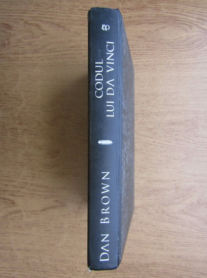 Anticariat: Dan Brown - Codul lui Da Vinci