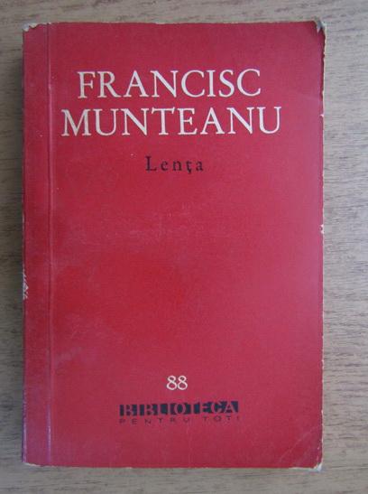 Anticariat: Francisc Munteanu - Lenta