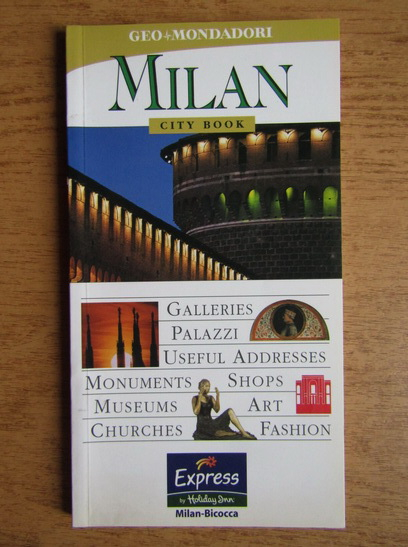 Anticariat: Milan city book