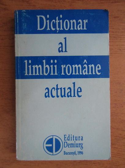 Anticariat: Zorela Creta - Dictionar al limbii romane actuale