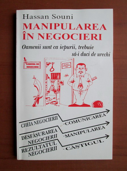 Anticariat: Hassan Souni - Manipularea in negocieri