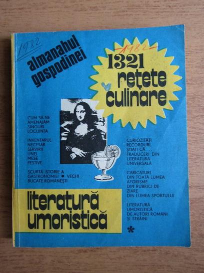 Anticariat: Almanahul gospodinei. 1321 retete culinare