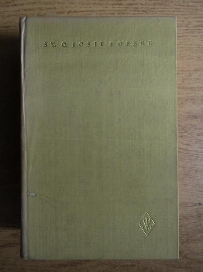 Anticariat: St. O. Iosif - Opere (volumul 3)