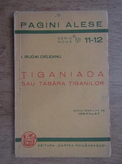 Anticariat: Ion Budai Deleanu - Tiganiada sau tabara tiganilor (1938)