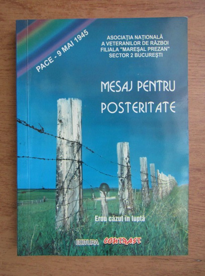 Anticariat: Mesaj pentru posteritate