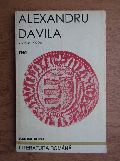 Anticariat: Alexandru Davila - Vlaicu-Voda. Drama in 5 acte, in versuri