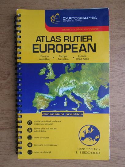 Anticariat: Atlas rutier european