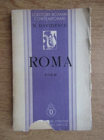 Anticariat: N. Davidescu - Roma (1936)