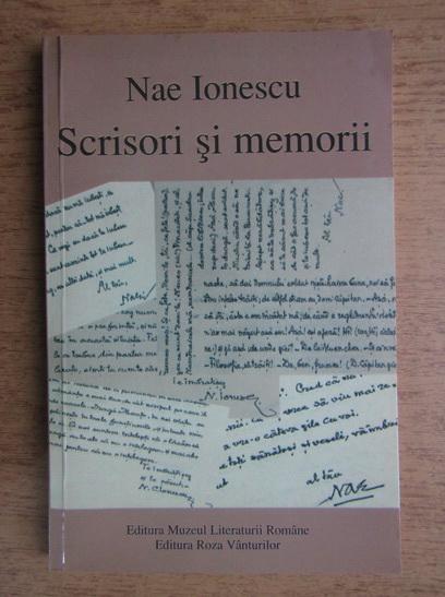 Anticariat: Nae Ionescu - Scrisori si memorii