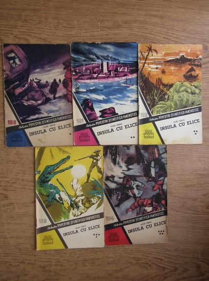 Anticariat: Jules Verne - Insula cu elice (5 volume, colectia Povestiri Stiintifico Fantastice)