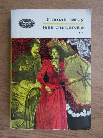 Anticariat: Thomas Hardy - Tess d'urberville (volumul 2)
