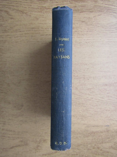 Anticariat: Ladislas Reymont - Les paysans (volumul 4, 1926)