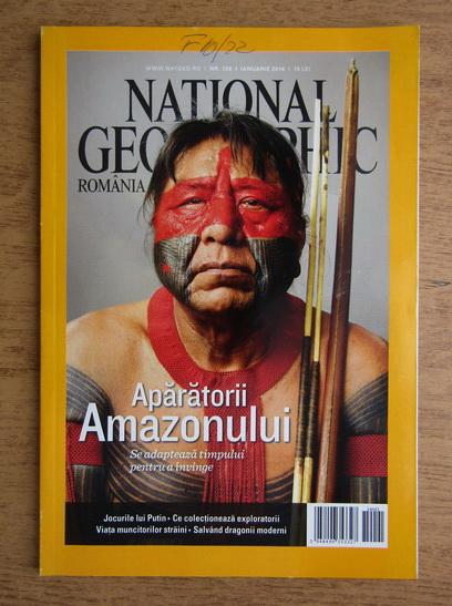 Anticariat: Revista National Geographic, ianuarie 2014