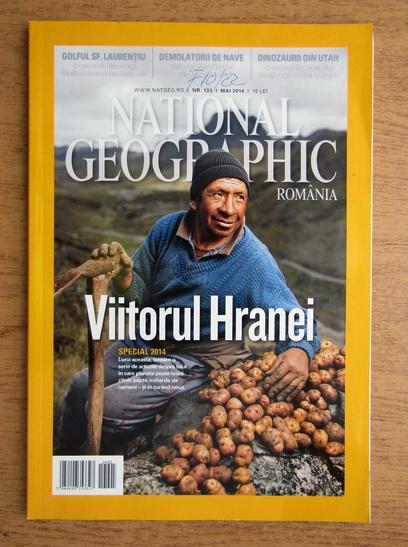Anticariat: Revista National Geographic, mai 2014