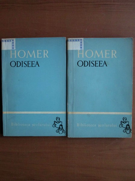 Anticariat: Homer - Odiseea (2 volume)
