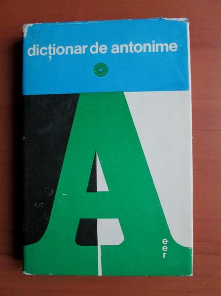 Anticariat: Marin Buca, O. Vintelor - Dictionar de antonime